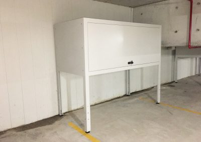 basement storage cabinet