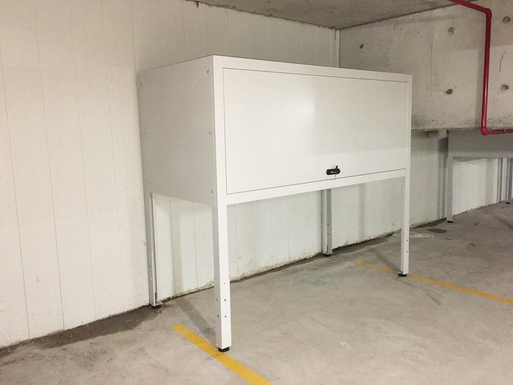 Superior Basement Storage Cabinet