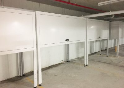 carpark storage cabinets