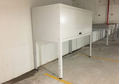 over bonnet storage unit