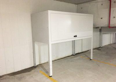basement storage cabinet