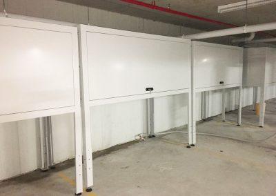 carpark storage cabinets